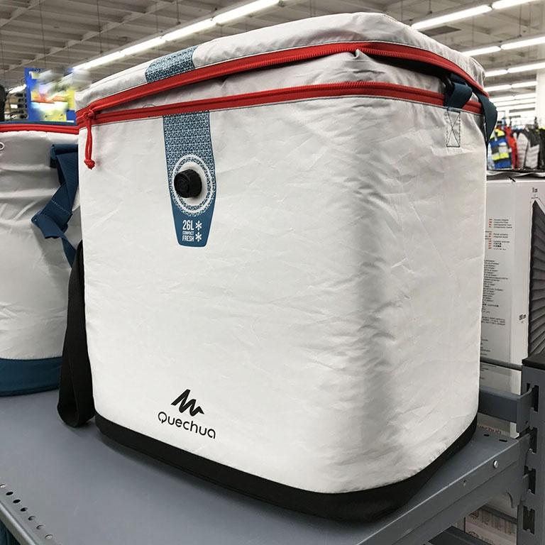 迪卡儂戶外冰柜車載便攜保冷箱保溫盒推薦露營保鮮包