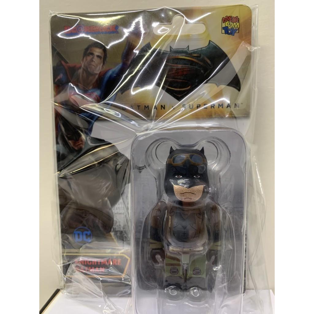 BE@RBRICK BATMAN 100% (BATMAN V SUPERMAN)