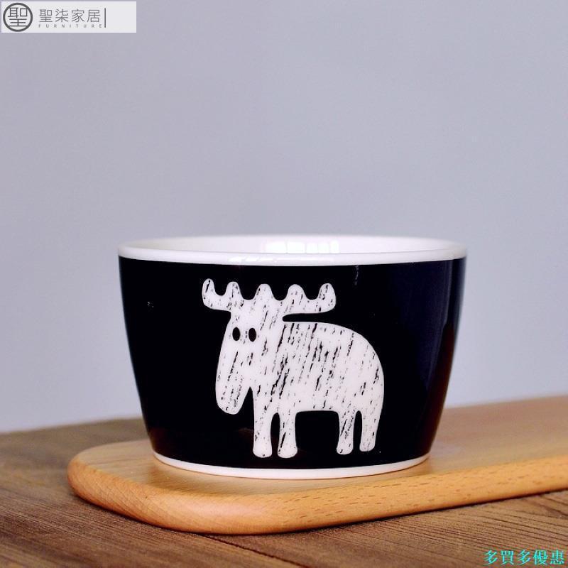 【現貨】出口訂單瑞典MOZ陶瓷餐具碗平底碗北歐風格飯碗微波爐烤箱適用 聖柒居家