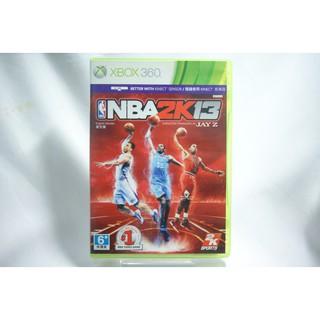 [耀西]二手 亞版 XBOX 360 美國職業籃球 NBA 2K13 英文版 含稅附發票