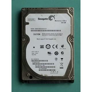Seagate 2.5吋SATA 500GB(500G/ 500.1GB) 筆電硬碟 ST9320423AS (檢測不良) 桃園市