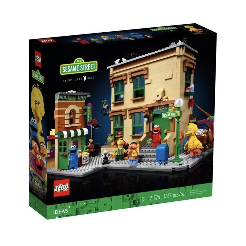 現貨 LEGO 樂高 21324 Ideas 系列 123 芝麻街 全新未拆