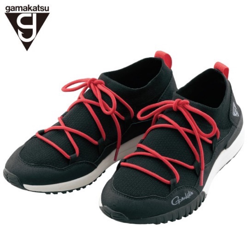 Gamakatsu 鞋帶款休閒鞋、防潑水、透氣