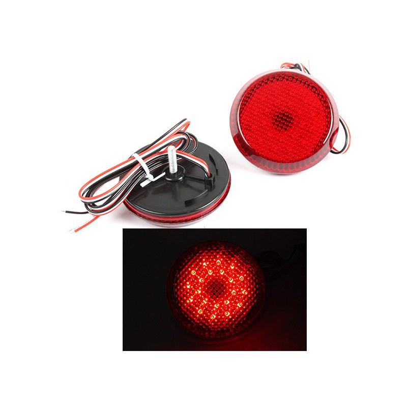 TOYOTA 豐田 Sienna SE Corolla Scion iQ xB 適用 LED後保桿燈 (紅色燈殼)