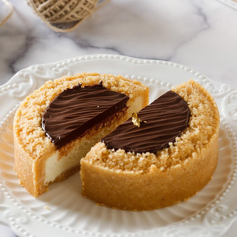 艾波索 比利時巧克力乳酪4吋 2019蘋果日報母親節蛋糕評比冠軍 自由時報蛋糕評比冠軍(1/2/4入)廠商直送