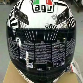AGV頭盔 賽道機車騎士安全頭盔AGV K3頭盔 摩托車機車頭盔 65周年 時鐘 王者之劍 全盔四季通用
