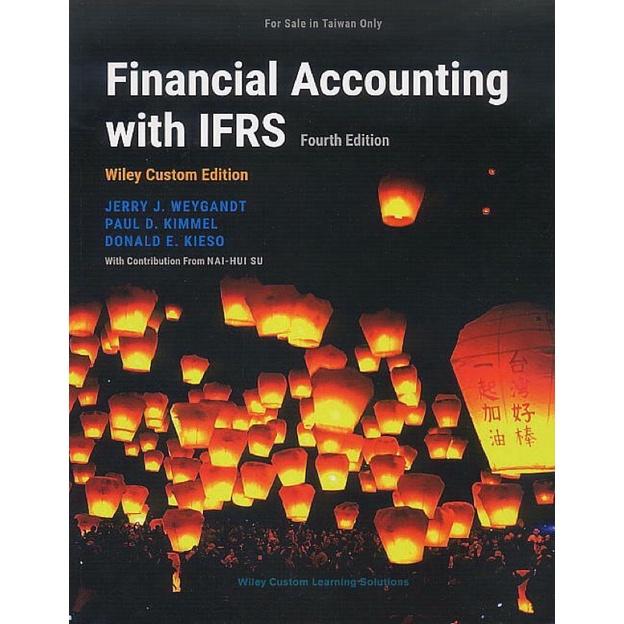 [2021 最新版]Financial Accounting with IFRS 4E 財務會計