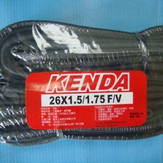 (動力方程式單車)Kenda 建大26吋 26x1.5/ 1.75,  F/ V,  法嘴 登山車內胎 臺中市