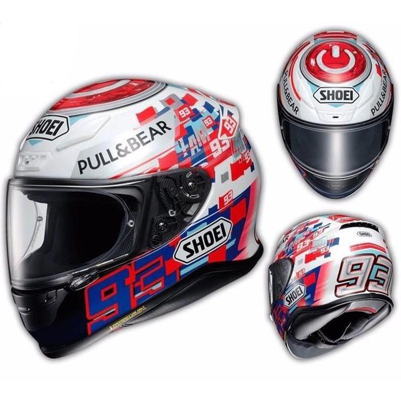 日本 SHOEI X14 安全 帽灰紅螞蟻 紅牛款 摩托車賽車四季全盔頭盔