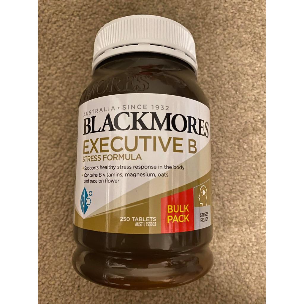 AussieBuy🌸澳洲代購代買🌸Blackmores 澳佳寶維生素B群 Executive B250/160/125顆