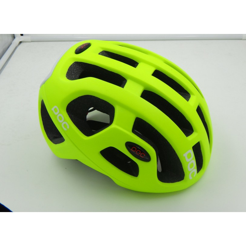 ♦精選現貨♦【綠色運動】POC同款安全帽 自行車頭盔一體成型騎行頭盔騎行裝備