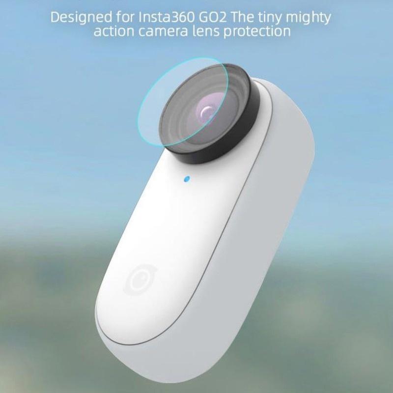 2pc 鏡頭玻璃屏幕保護膜 LCD 顯示屏蓋軟高清防刮 PET 軟膜, 用於 Insta360 GO 2 運動相機