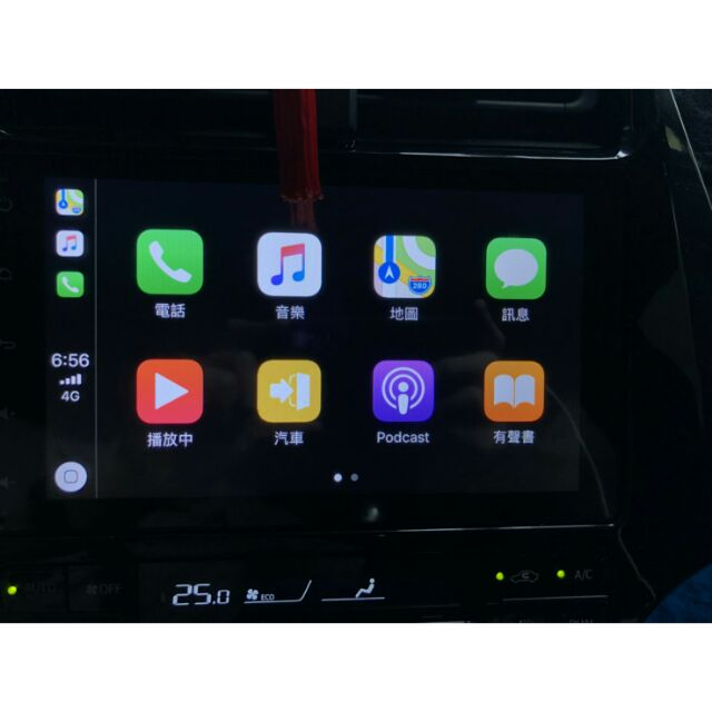 Toyota PRIUS4 九吋滿版安卓機(Apple carplay 完整支援'
