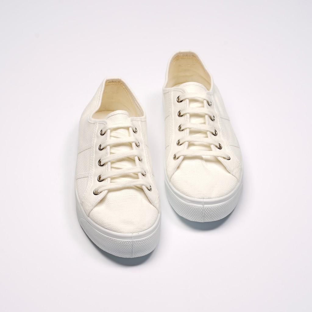 CIENTA 西班牙國民帆布鞋 15997 05 白色 經典布料 大人 繫帶款