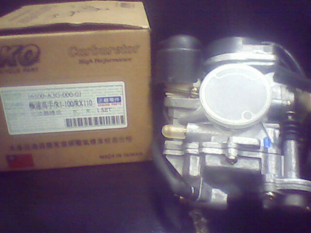 SYM 三陽 極速高手/ MIO-100 / R1-100 / RX110  化油器 (台製副廠)