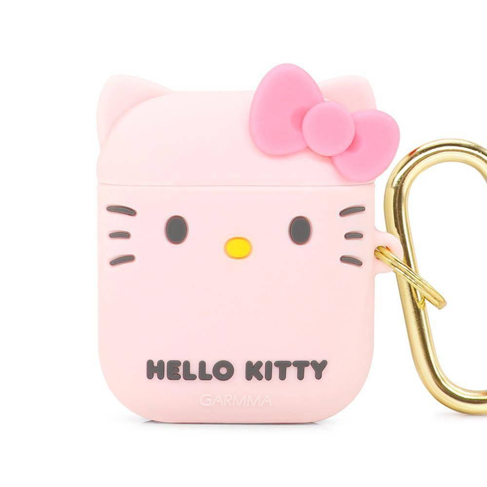 GARMMA Hello Kitty AirPods 1/2代可通用藍芽耳機盒保護套