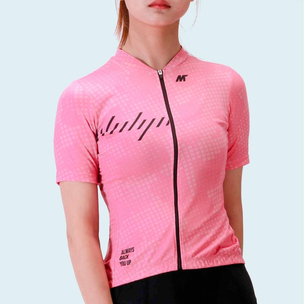 【VM.Plus】MSL艾比短車衣-粉(女) 短車衣 女款 自行車車衣 騎行服