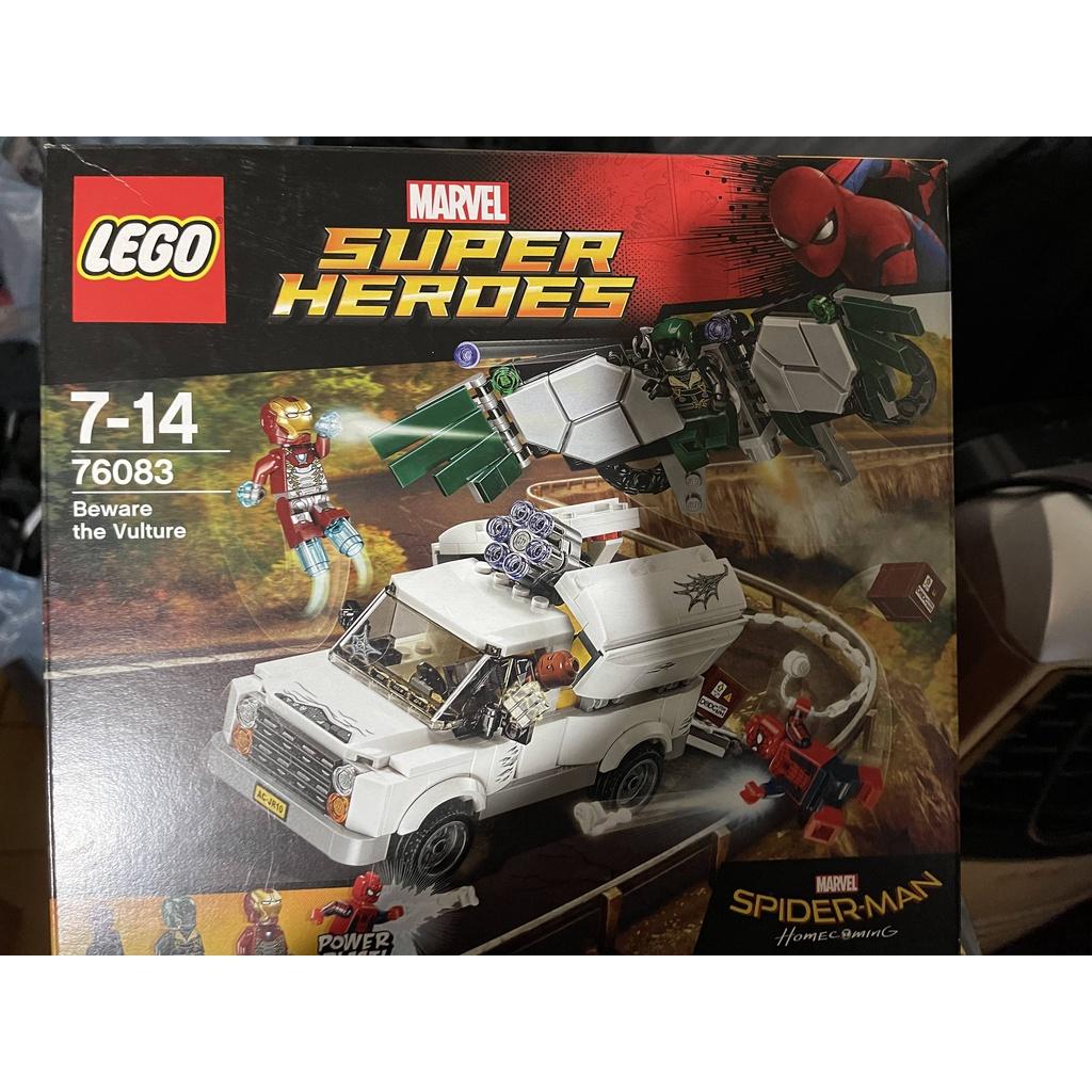 LEGO 全新樂高正品 超級英雄 76083蜘蛛人小心禿鷹追擊戰