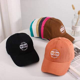 帽子男棒球帽個性街頭字母1990刺繡老帽素色棒球復古帽潮帽女生帽子carhartt 帽子阿美咔嘰復古簡約藍色鴨舌帽老帽
