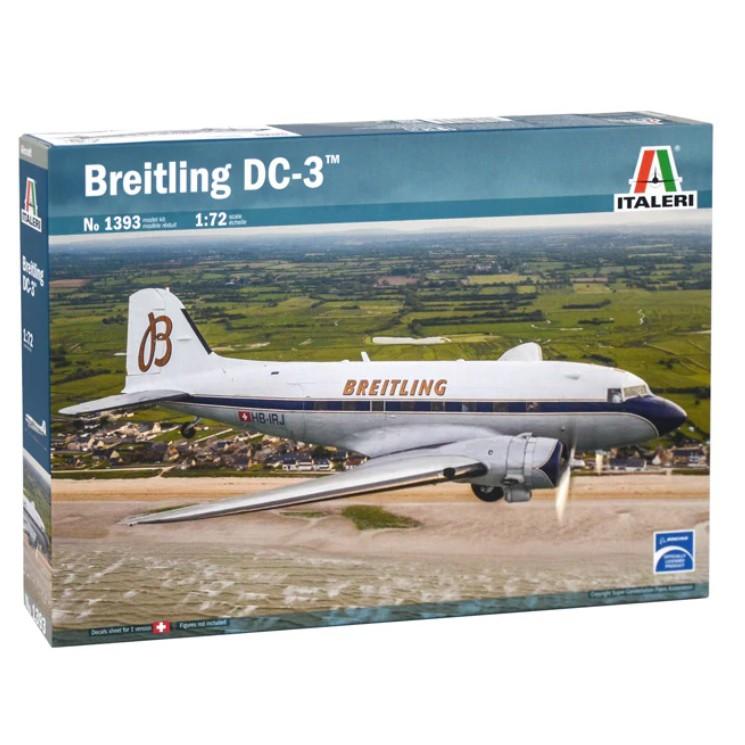 ITALERI 1393 義大利模型 1/72 DC-3 Breitling