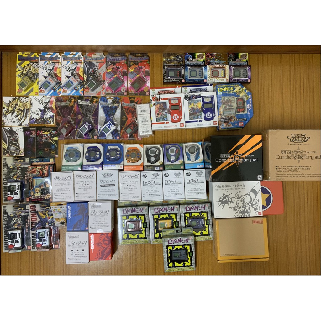 怪獸對打機 D2 D3 D4 D-ARK 超代 X抗體 15周年 20週年 卡片全套 萬代 美版 BANDAI 數碼寶貝