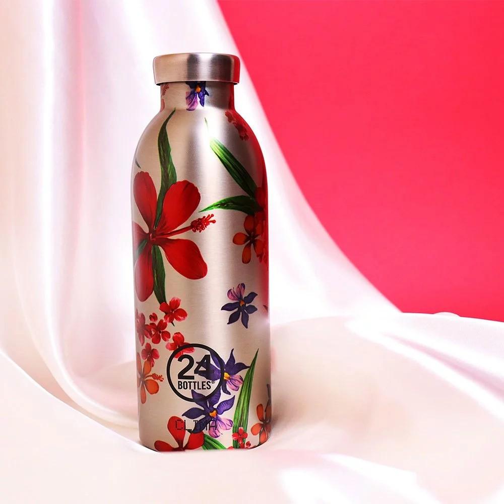 義大利 24Bottles 不鏽鋼雙層保溫瓶 500ml - 情懷