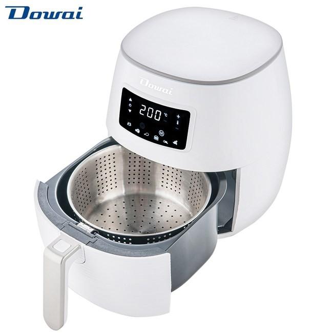 【DOWAI多偉】炸桶5L、炸籃2.5L 第二代304不鏽鋼氣炸鍋(贈炸桶把手)《DA-105》