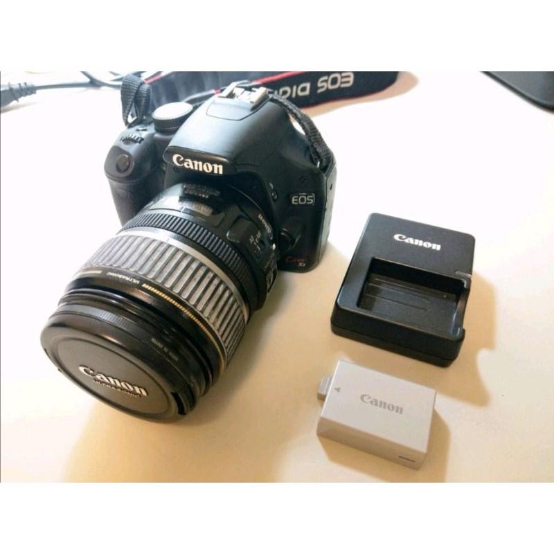 (二手良品)Canon EOS Kiss X3(500D)+17-85mm機身鏡頭組