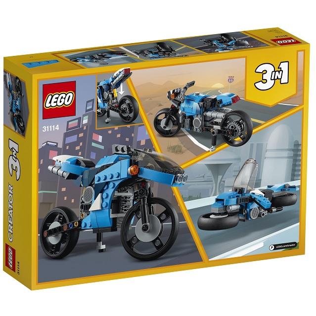 LEGO 31114 創意系列 超級摩托車【必買站】樂高盒組