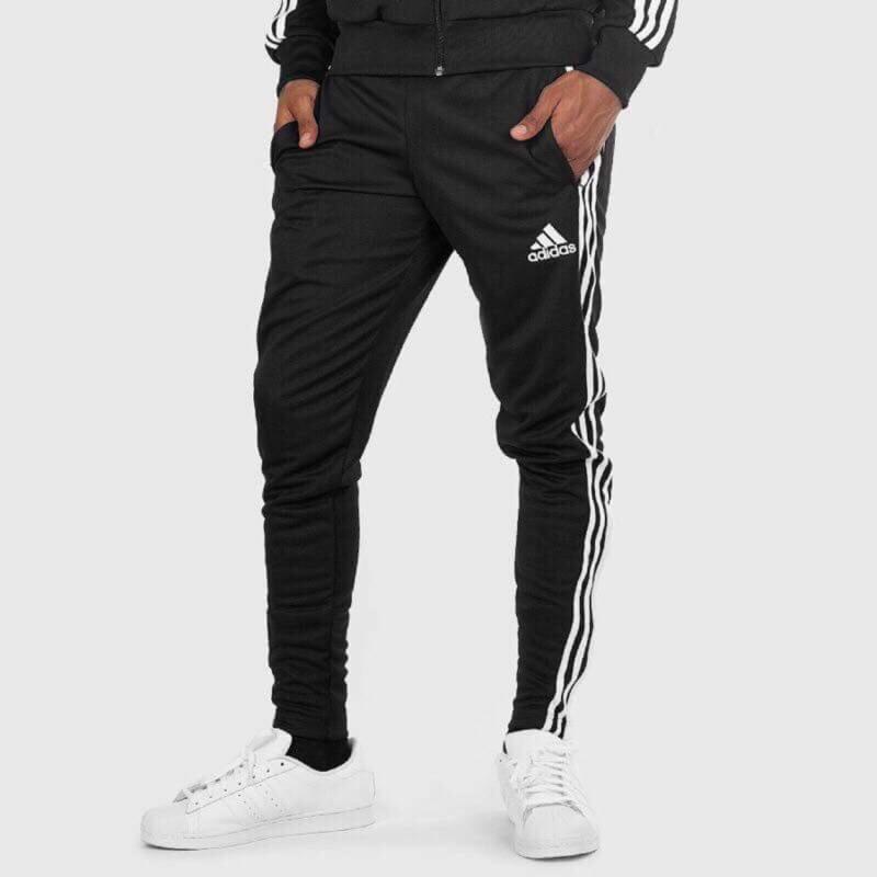 [TPE] Adidas pants 三線窄版運動褲