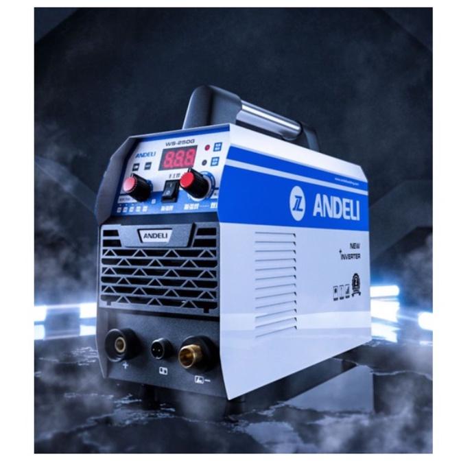 【奇奇百貨】ANDELI安德利WS-250G氬焊機TIG變頻式電焊機WS250雙用焊機220V氬弧焊機IGBT焊道清洗機
