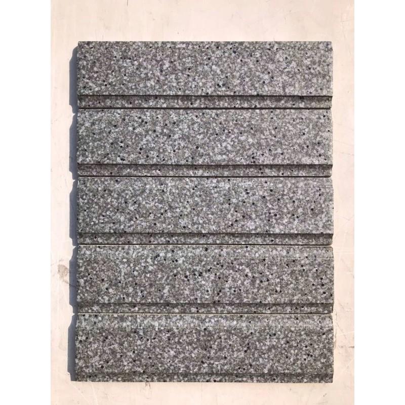 [珊珊優品]石質二丁掛6*22.7cm  灰綠色  二丁掛 外牆山型磚  馬可貝里