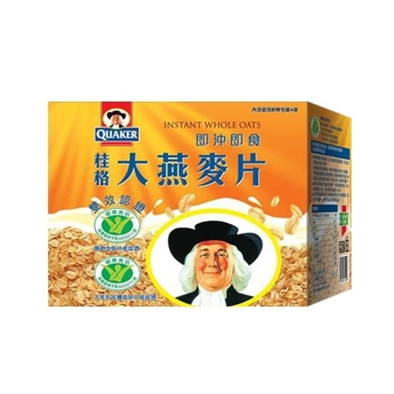 桂格大燕麥片雙效認證2600g