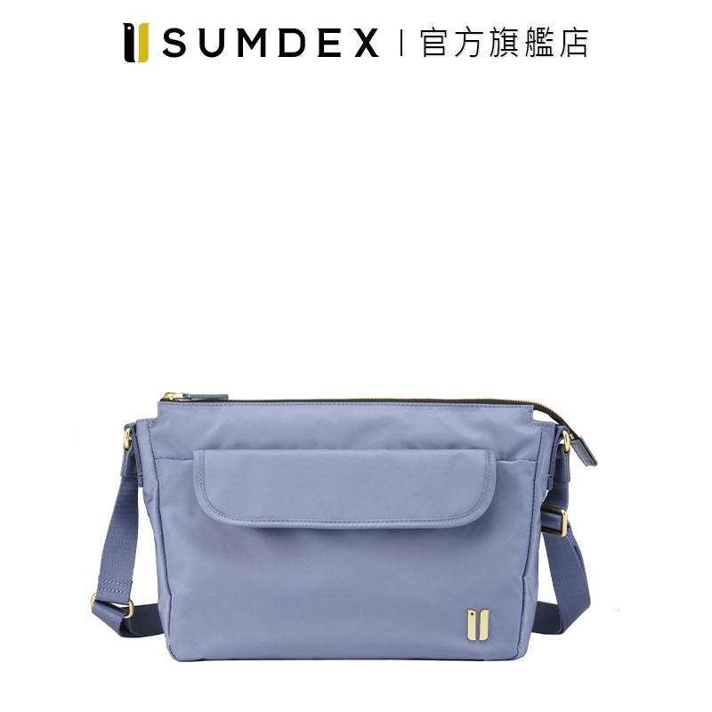 Sumdex 輕巧型斜肩包 NOA-781BU 藍色 官方旗艦店
