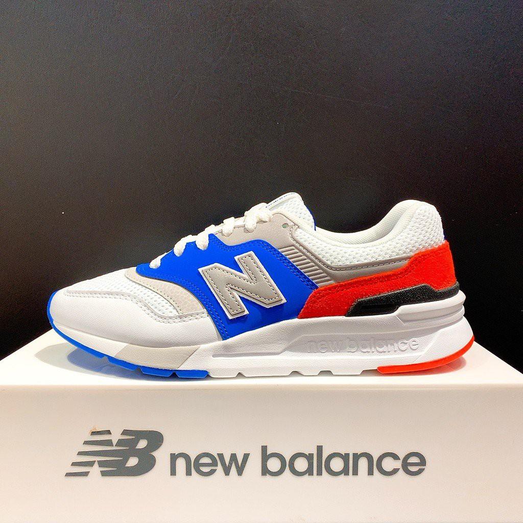New Balance 997 男女款 白藍色 復古休閒鞋 CM997HZJ