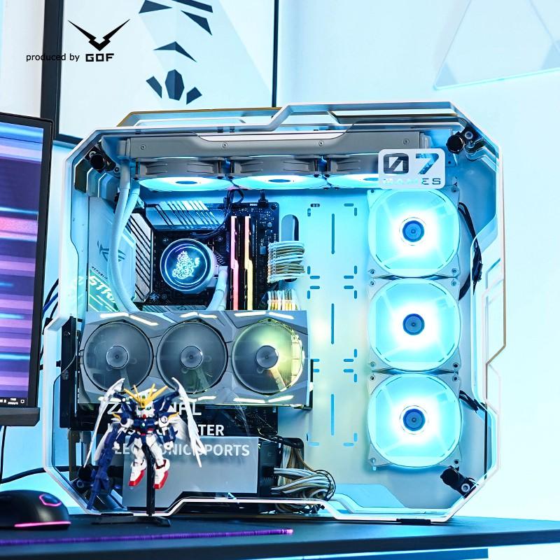 【小可愛】GOF i7 10700K/RTX3060ti 3070 3080顯卡組裝水冷主機ROG玩家國度