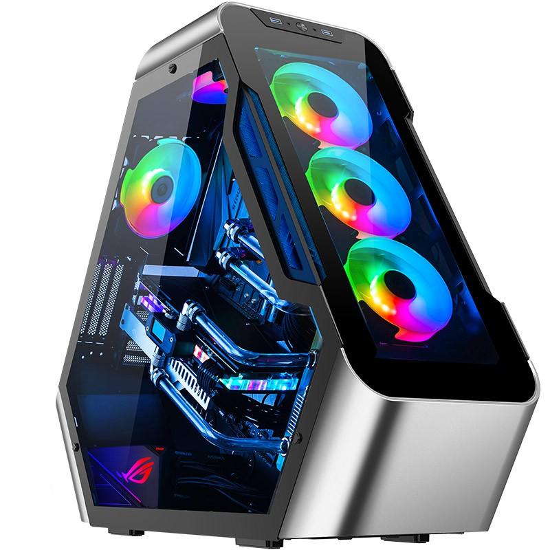 外星人造型TR03 i9 10900K/RTX3080 3090水冷DIY組裝游戲電腦主機#東金靚淘運動