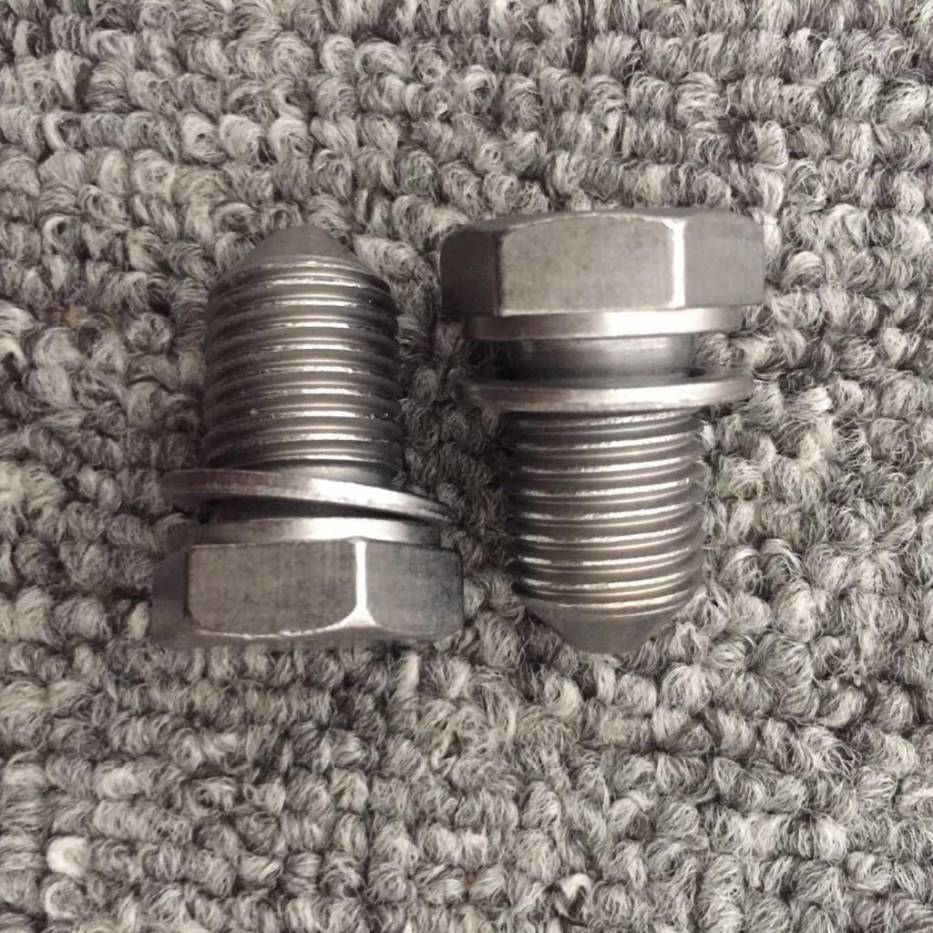 車品匯 di各車系 適用于奧迪A3 B8 A4L C7 A6L Q3 Q5機油底殼螺絲 油底殼放油螺絲汽車改裝 汽車飾品