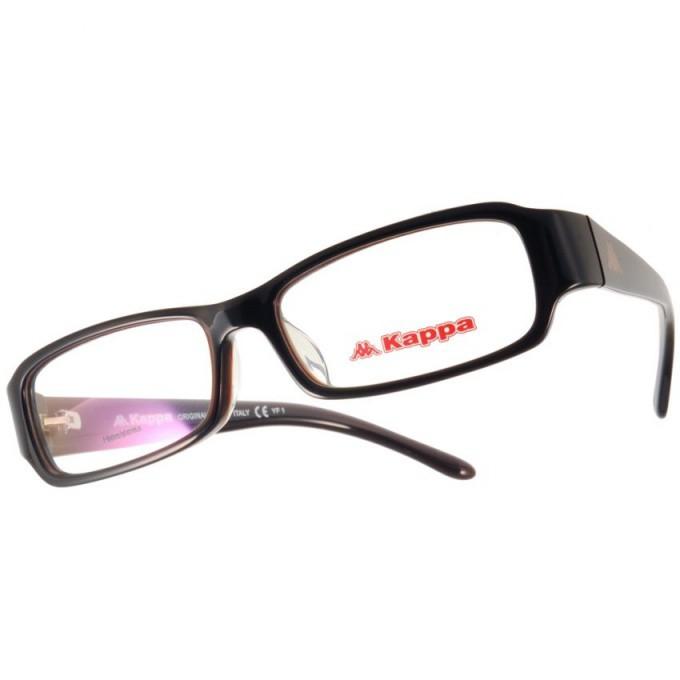 KAPPA 光學眼鏡 KP1025 BW 簡約經典LOGO小方框款-金橘眼鏡