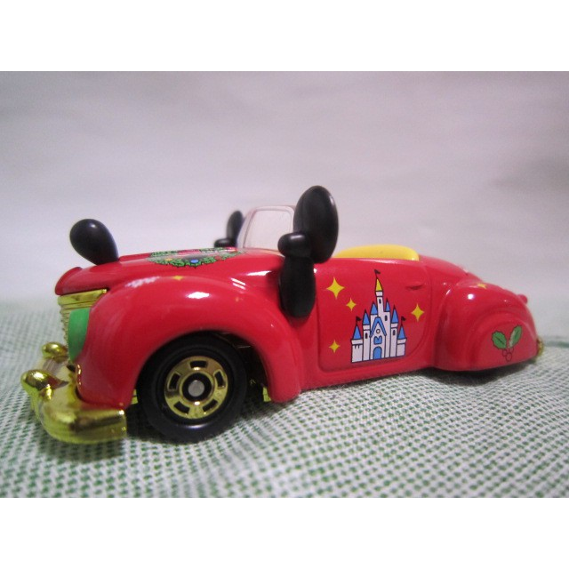 無盒新車附膠盒 運費依蝦皮TOMY tomica 日本東京迪士尼樂園 2019聖誕節限定 米奇敞篷跑車 園區模型車 多美