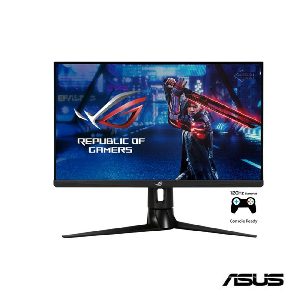 {麻吉熊3c}ASUS ROG Strix XG27AQ 27型 HDR 170Hz G-SYNC相容 電競顯示器