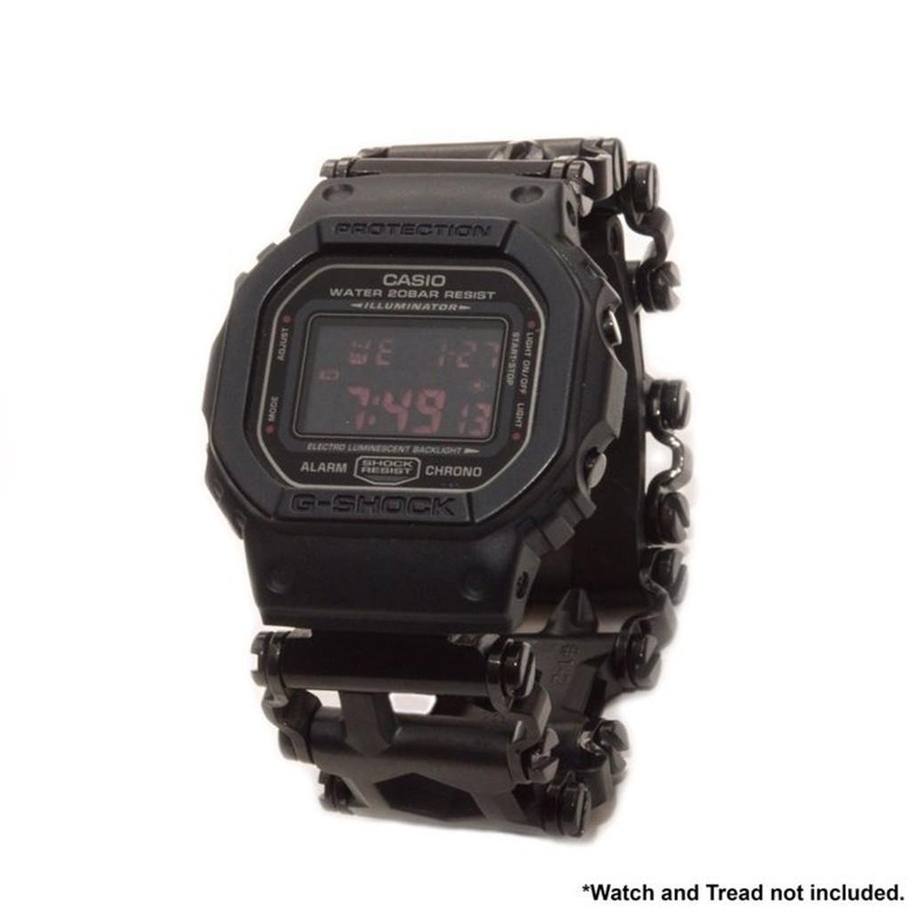 【預購】全新G-SHOCK與Leatherman Tread版及LT窄版連接專用手錶連接環一對(不銹鋼及黑色DLC款)