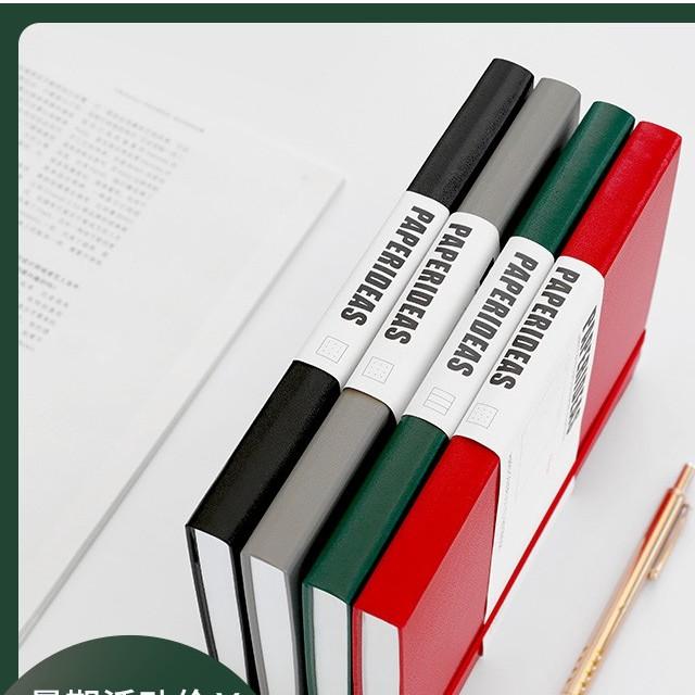 【現貨】PAPERIDEAS頁碼綁帶A5點陣本筆記本手帳本圓點記事本子彈筆記BUJO