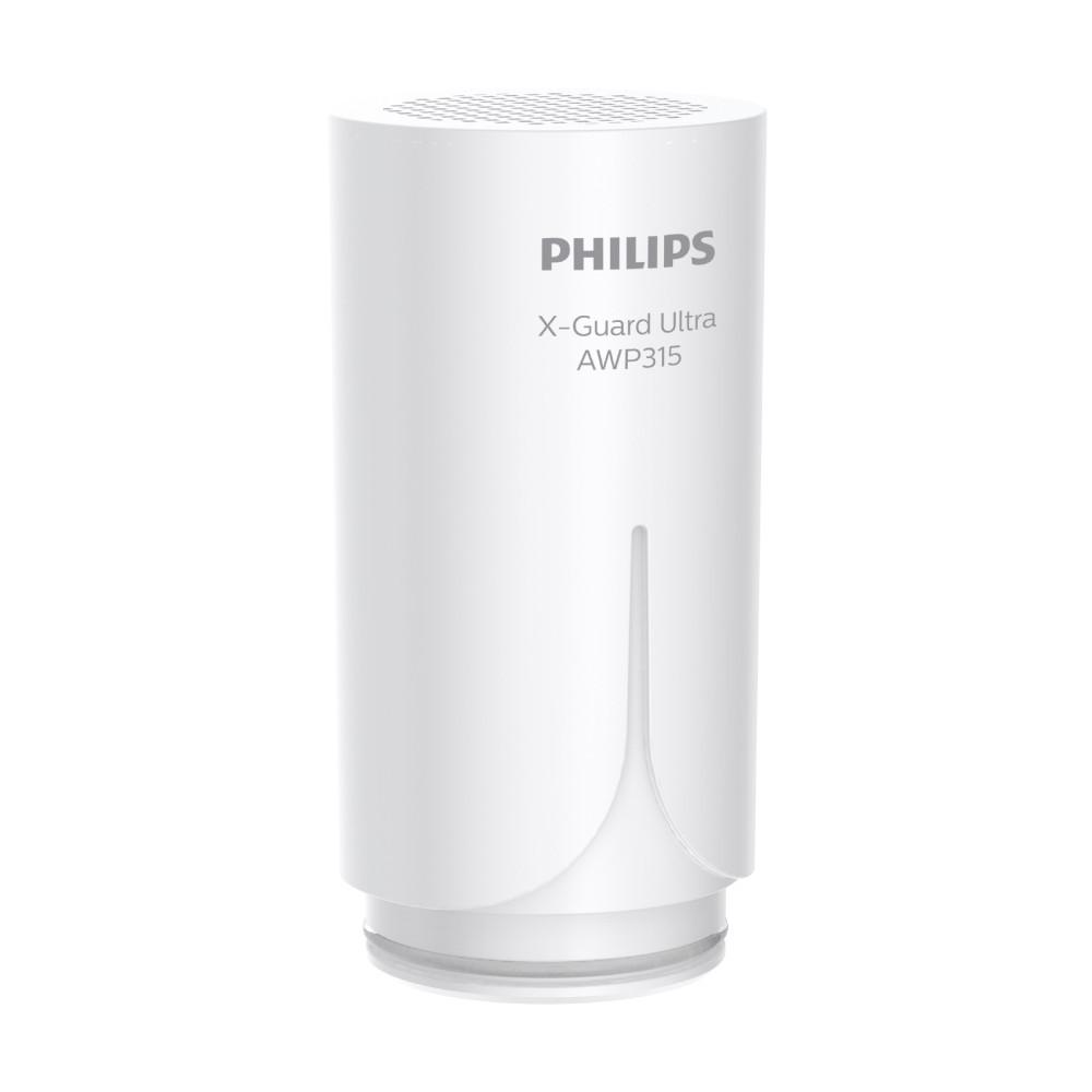 【Philips 飛利浦】日本原裝 除鉛 除氯除農藥 超濾複合 濾芯/濾心 AWP315 適用AWP3753/3754
