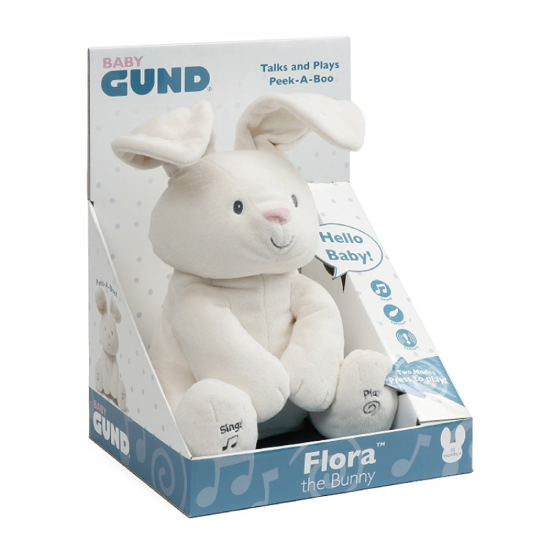 GUND小兔躲貓貓互動玩偶 玩具反斗城