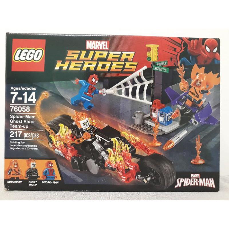 LEGO 76058 超級英雄系列 蜘蛛人 惡靈戰警