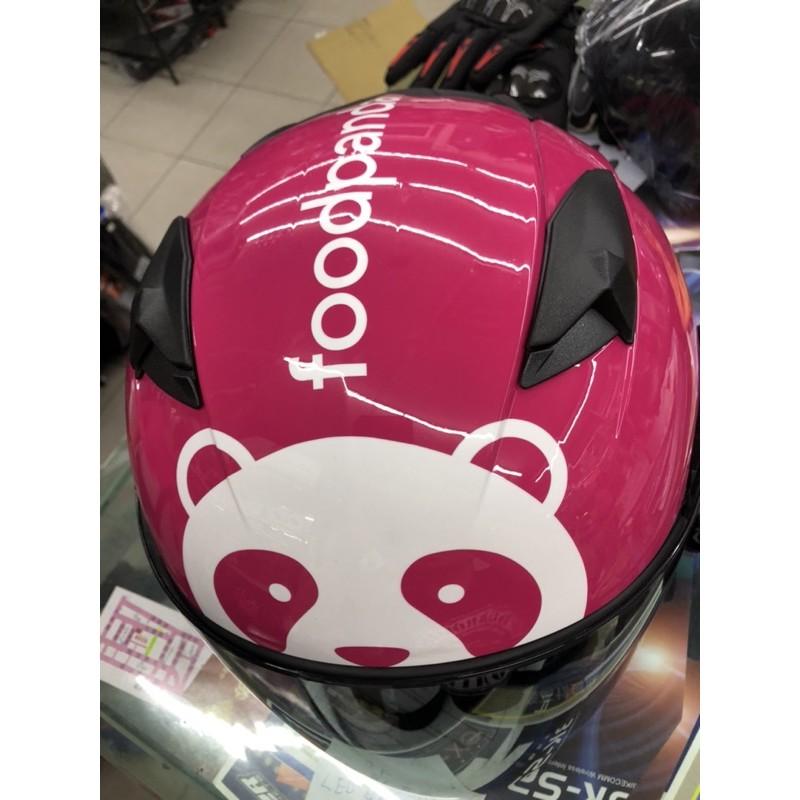 🔥免運費foodpanda熊貓一代外送安全帽配件內襯 鏡片等等此商品不包含安全帽專售配件區