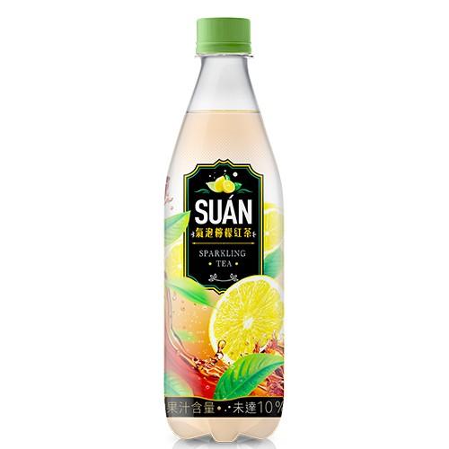 SUAN氣泡檸檬紅茶540ML【愛買】