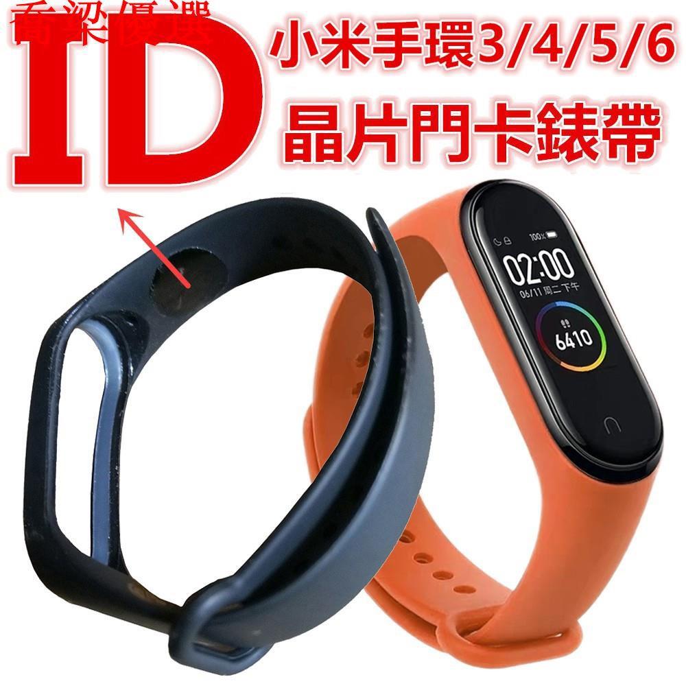 【現貨,熱銷】可開門錶帶 5色可選 適用小米手環6/5/4/3 IC或ID晶片T5577門卡腕帶 N