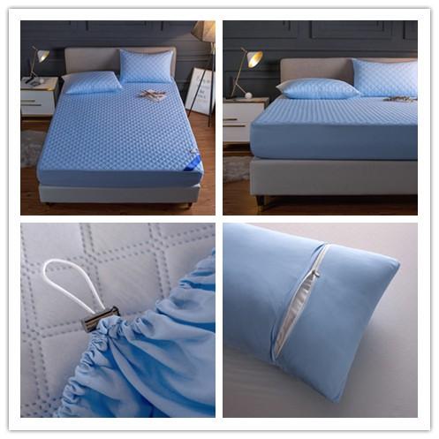 現貨+免運100%完全防水保潔墊 防菌除螨 親膚 TPU防水專利 防水枕套 防水隔尿 單人雙人加大 床包床罩床套床單